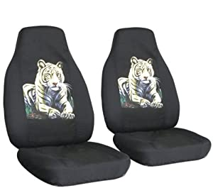 2 black bengal seat covers for a 2006 to 2012 chevrolet impala side airbag friendly. Black Bedroom Furniture Sets. Home Design Ideas