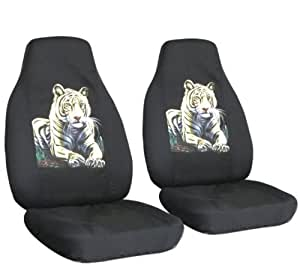 2 black bengal seat covers for a 2008 to 2009 chevrolet malibu side airbag friendly. Black Bedroom Furniture Sets. Home Design Ideas
