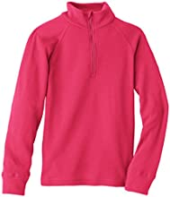 Odlo Warm T-Shirt manches longues 1/2 zip Enfant Rose Red FR : 6 ans (Taille Fabricant : 116)