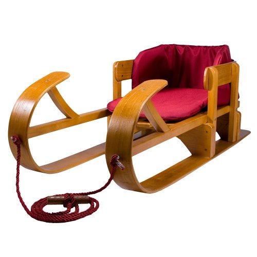 Lucky Bums Heirloom Collection Wooden Baby Boggan Sled