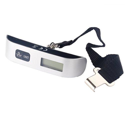 小型軽量『ベルト式吊り下げデジタルスケールEL10』スーツケースの計量に【MAX50kg】