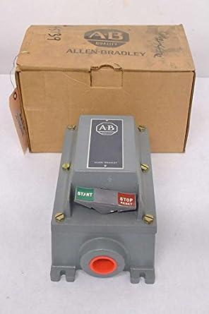 New Allen Bradley 609 Bex Hazardous Manual Motor Starter