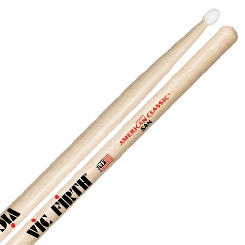 Vic firth - baguettes american classic hickory olives nylon - 5an