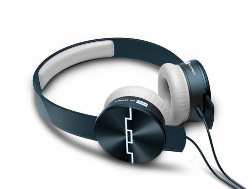 Sol Republic Tracks Ultra Casque Audio Arceau avec Microphone Bleu