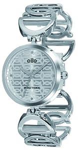 Elite Laura Ladies Rectangular Stainless Steel Watch