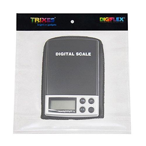 TRIXES Petite Balance Numérique Electronique 0.1-1000g Portable