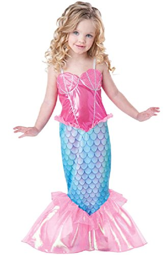 [8eighteen Mystical Mermaid Deluxe Outfit Toddler Costume] (Deluxe Nun Costumes)