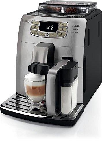 Saeco Philips Intelia Deluxe Espresso Machine, Silver (Philips Saeco Coffee Maker compare prices)
