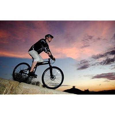 "SwissBike LX Aluminum Folding Mountain Bike (18"" Fram) _Matt Black 41Nr89gWkQL._SS400_"