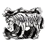 Silverado 'Aries' Silver Charm - Fits On Pandora Chamilia And Troll Bracelets