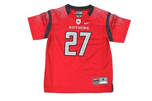 Nike Boy's NCAA Rutgers Scarlet Knights Football Jersey 27 Red (Rutgers Football Jersey compare prices)