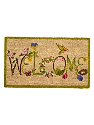 Abbott Coir Fibre Doormat, Natural Material