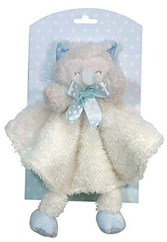 Stephan Baby Sleepy Owl Blanket & Toy Set Blue