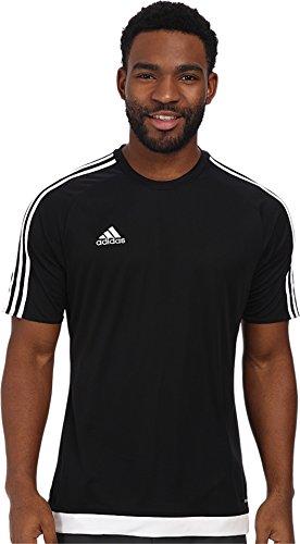 adidas Performance Men's Estro Jersey, Medium, Black/White
