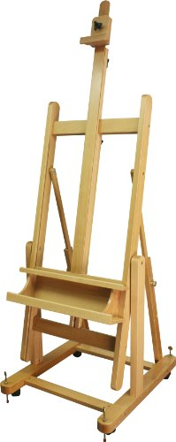 Art Advantage H Frame Beech Studio Easel