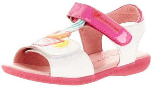 Agatha Ruiz De La Prada Girls Gelatina Sandals White Weià (A-Blanco) Size: 8 (25 EU)