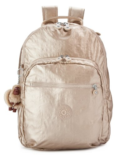 B00F21TKOE Kipling Seoul GM Backpack, Toasty Gold, One Size