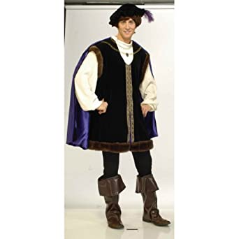 Deluxe Noble Lord Costume - Mens Small