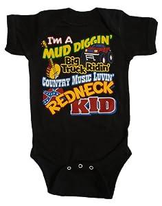 """Toddler """"Redneck Kid"""" Onesie"""