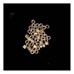 Crimp Beads 1mm Gold Fill USA Made 0.044 Hole (Qty=96)