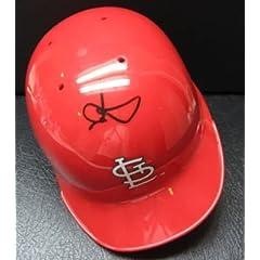 MARK MCGWIRE Signed Autographed Baseball Helmet PSA DNA I50001
