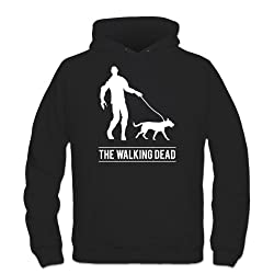 The Walking The Dog Dead Hoodie by Shirtcity by Shirtcity
