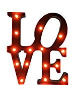LO+DEMODA Panel Decorativo Luminoso LED Love