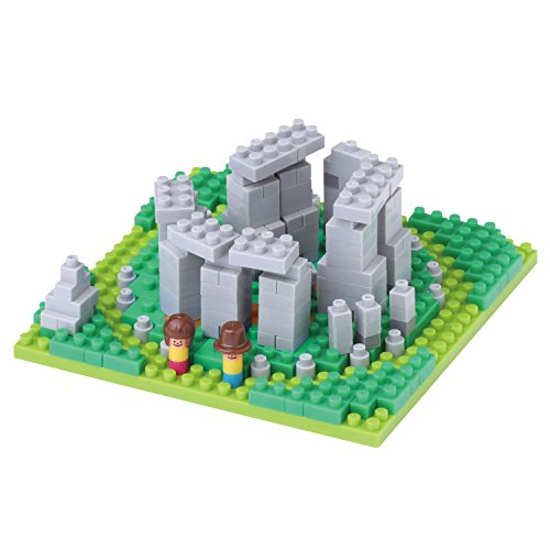 Nanoblock Stonehenge Building Blocks Kit (240 Piece) (Stonehenge Model compare prices)