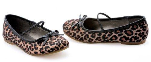 Leopard Ballet Flat Child Shoes Accessory Size Medium 13 1
