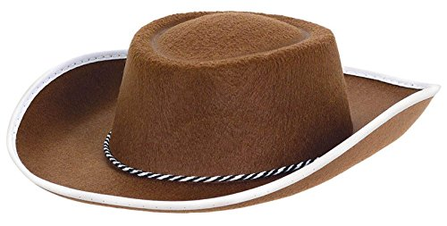 Costumes USA Cowboy Hat - Brown - One Size