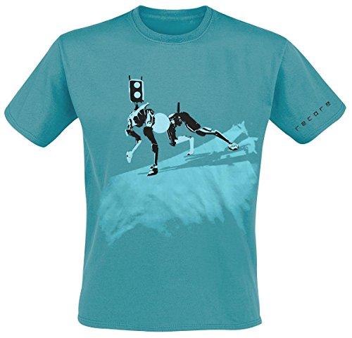 Recore Mack T-Shirt turchese M
