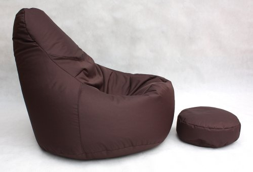 Sofa armchair brown living room soft furniture bean bag