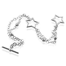 Sterling-Silver-2-Strand-Toggle-Bracelet