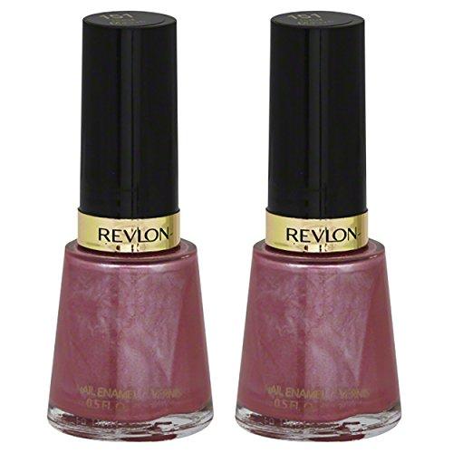 Revlon Nail Enamel, Iced Mauve 151 - Pack of 2