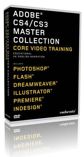 Adobe Master Collection CS4 & CS3 Training Bundle (Student / Teacher) (PC/MAC)