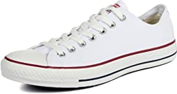 Converse Unisex Chuck Taylor All Star Ox Optical Wht Basketball Shoe 15 Men US