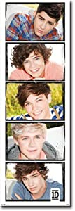 Door - One Direction Art Poster PRINT Unknown 21x62 from Library Images