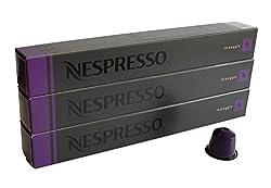 30 Pods Arpeggio Nespresso Coffee Capsules (3 Sticks)