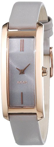 Joop! Sophia JP101462008 - Reloj para mujeres, correa de cuero color gris