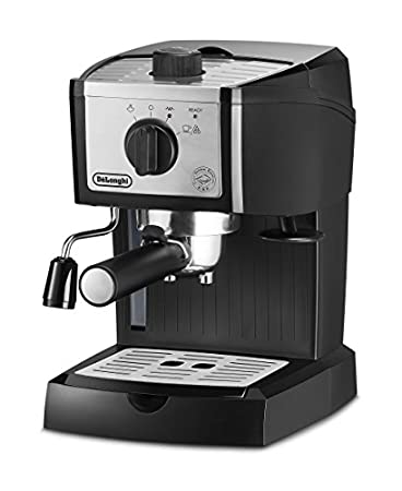 DeLonghi EC155M Manual Espresso Machine, Cappuccino Maker image