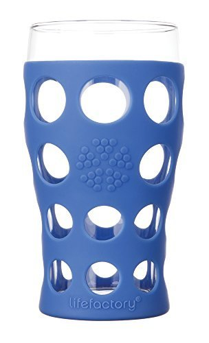 Lifefactory-20-oz-Everyday-Glassware-Large-Cobalt-Pack-of-2-by-Lifefactory