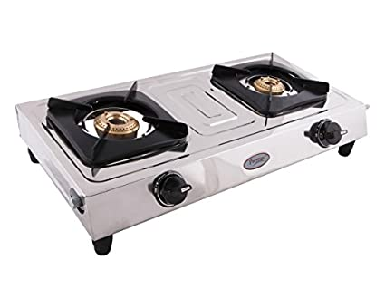 Star SS Gas Cooktop (2 Burner)