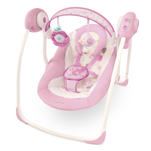 Bright Starts Comfort and Harmony Portable Swing, Florabella
