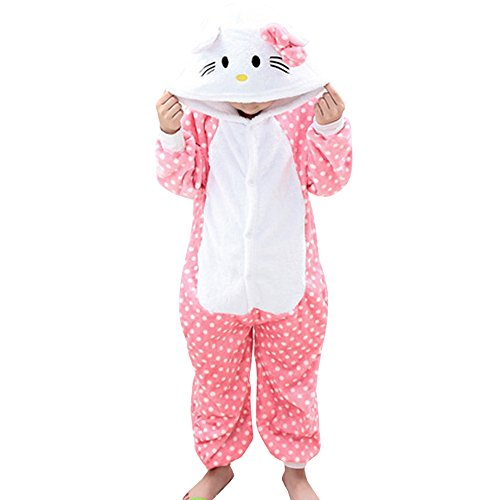 Hello Kitty Costumes Sleepwear for Girls Kids KT Cat Onesie Pajamas