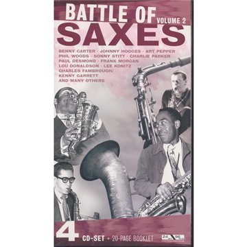 Battle of Saxes, Vol. 2 by Charles Fambrough, Jackie McLean, Lou Donaldson, Charlie Parker and Earl Bostic