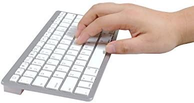 Wireless Bluetooth Keyboard for iPad/iPhone 3.0 OS/Android/Window Mobile/Symbian Smartphone/MAC/PC (Apple Style keyboard)