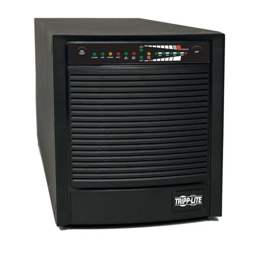 Tripp Lite SU1500XL 1500VA 1200W UPS Smart Online Tower 100V-120V USB DB9 SNMP RT, 6 Outlets