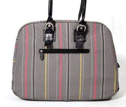 sassy-caddy-womens-ritzy-messenger-bag-grey-hot-pink-black-by-sassy
