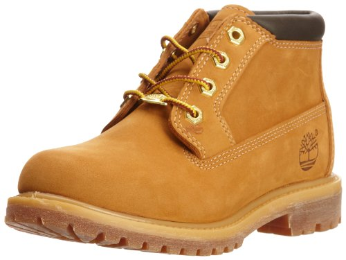 23399 Timberland Women Waterproof Nellie Double Chukka Boot Wheat Nubuck Leather