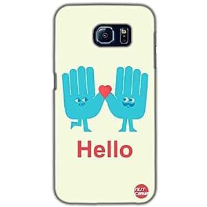 Designer Samsung Galaxy S6 G9200 Case Cover Nutcase-Talk To The Hand